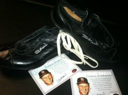 Stan Musial Signed Autographed Vintage 1950's Cleats New