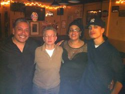 Nap, Carmen, Patty & Truth at Carmen & Patty's Birthday Celebration (502 Bar Lounge's Social Saturday Karaoke Night)!