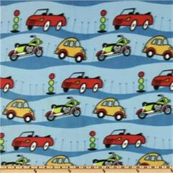 Cars & Motor Bikes - FLEECE B64