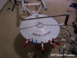 Cementing The Saucer - 1