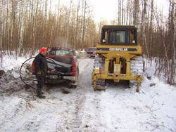 2011-12 Cowan Trail Work