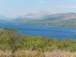 Ben Nevis from LochCailloch