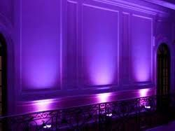 Purple Uplighters