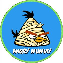 Angry Bird Monsters Angry Mummy