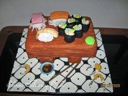 CAKE 5A2- Sushi Cake