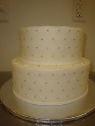 Diamond pattern with pearls 25 servings $100