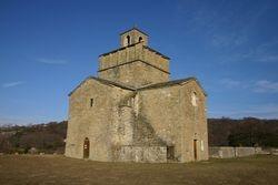 La chapelle romane de Comps
