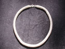 Silver roundmaille