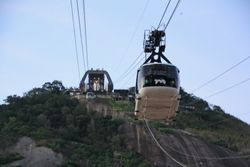 Cablecar on Sugarloaf Mountain, Rio