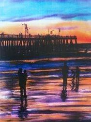 Pismo Pier Sunset (Portraitl)