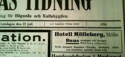 Hotell Molleberg 1934
