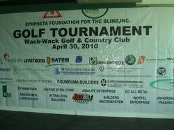 Numerous Sponsors & Benefactors to the Tournament
