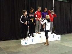Klara Patel - 2nd place at Juvenile Provincials 2015