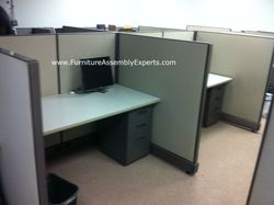 used office cubicle installation service in waldord MD