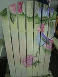 Hydrangea Chair Back