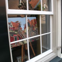 Art in the windows