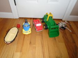Truck, Tractor & Boat Lot - $10