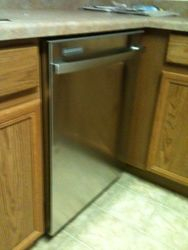 dishwasher install 2