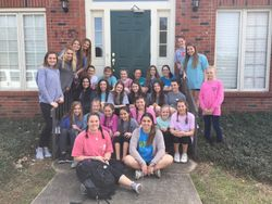 Volunteers from First Baptist Church 3/2017