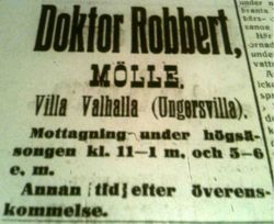 Villa Valhalla 1916