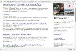 Samosa Hut restaurants .