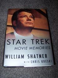 Star Trek Movie Memories - William Shatner - Hard cover