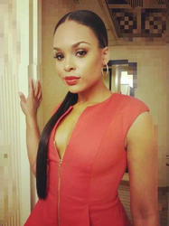 Demetria McKinney ready for the NAACP Image Awards Pre-Gala at Vibiana on January 31, 2013 in Los Angeles, California.