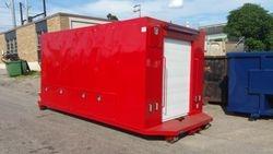 Custom Utility Body for Hook-Lift Truck