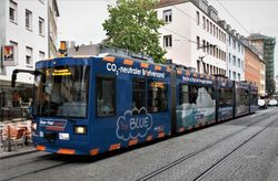 LHB tram #260 on Augustinerstrasse
