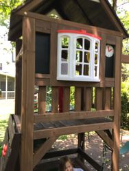 KidKraft Lindale swing set assembly in ellicott city Maryland