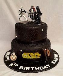 Star Wars Cake - Black