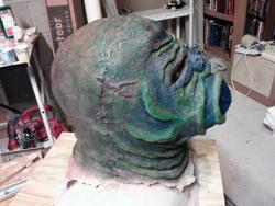 Moleman head