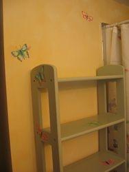 Matching Shelf-w/ Butterflies