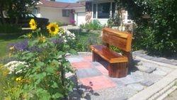 """Cedar bench 4'X14"""""""