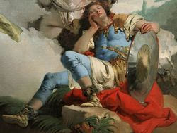 Tiepolo, Armida and the Sleeping Rinaldo, Bewitched by Love, 1745, Chicago