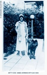MABEL NORMAND & CHOW