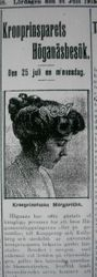 Prins Gustaf Adolf 24 juli 1915