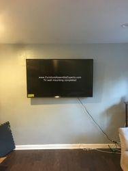 TV wall installation service in newington Virgina