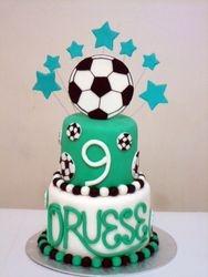 Soccerball Cake (B040)