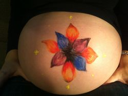 Christina's Belly Art