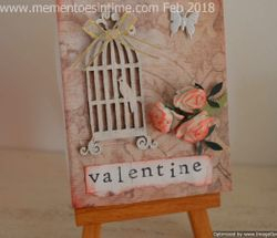 My Valentine Mini Canvas