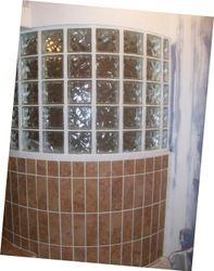 Glass Block (not plastic) Shower