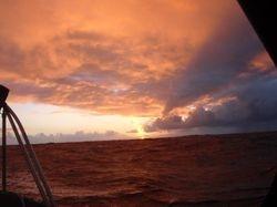 Dawn following a storm