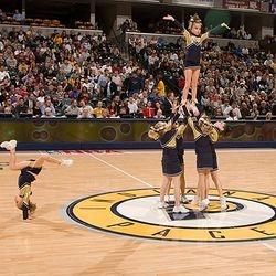 Cheer Pals Performing.