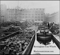 Coal Wharf. c1890s.