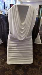 Kylie Cowl Neck chair covers