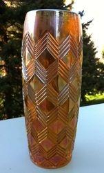 Chevrons vase, (possible) Joseph Rindskopf, Czech