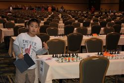 Shawn at 2012 Grade School Championships