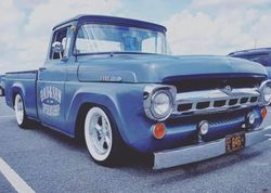 39. 57 hot rod Ford pickup