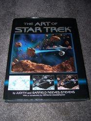 The Art of Star Trek - Large Hardcover Book